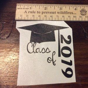Other - Class of 2019 permanent car decal